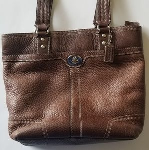 Coach Bags - Coach pebble leather tote